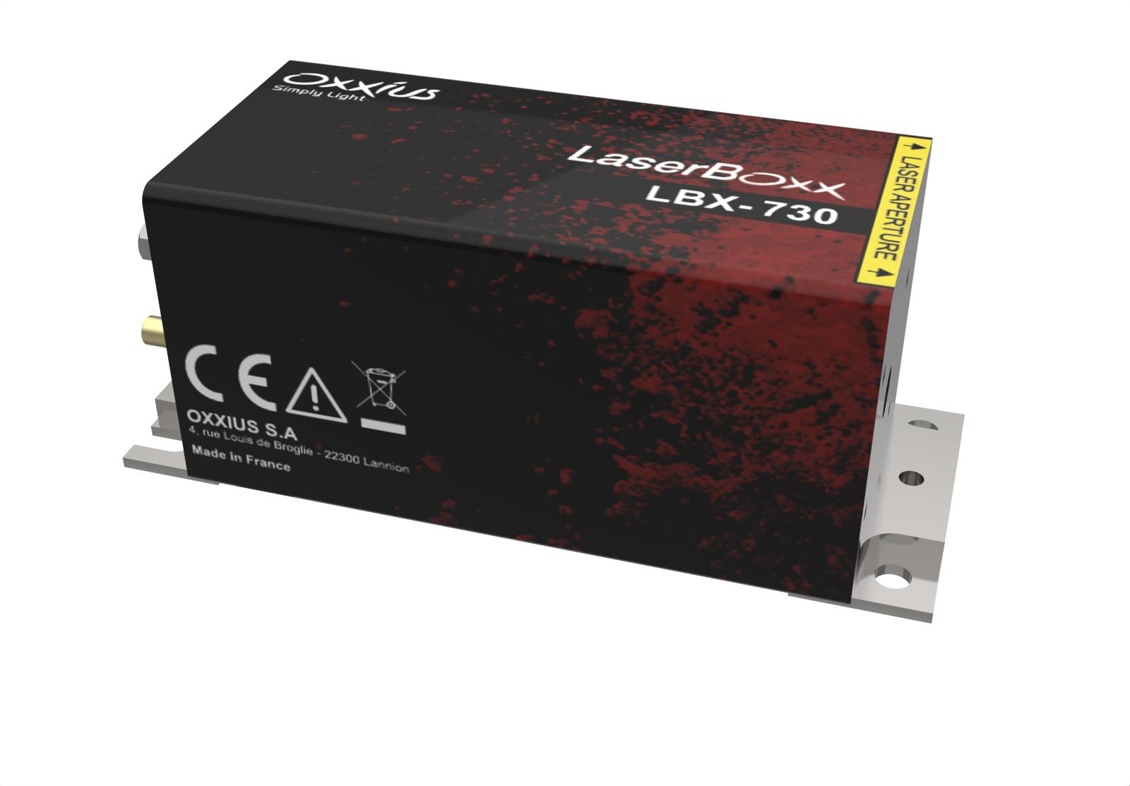 LBX-730-40-CSB: 730nm Laser Diode Module