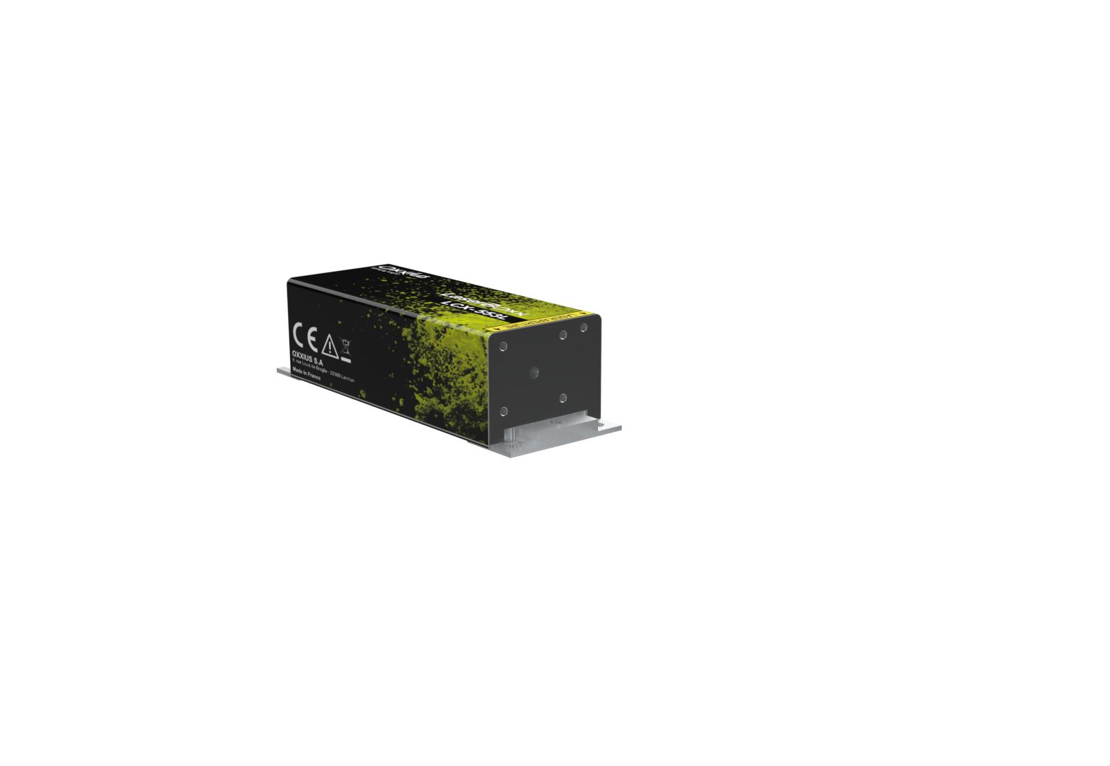 LCX-553S-100-COL: 553nm SLM DPSS Laser