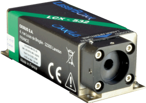 LCX-561L-100-CSB: 561nm Low Noise DPSS Laser
