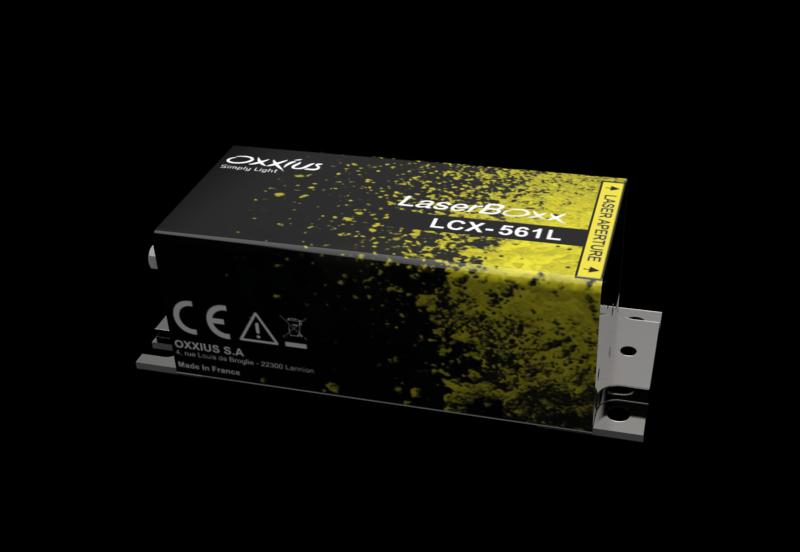 LCX-561S-100-COL: 561nm SLM DPSS Laser