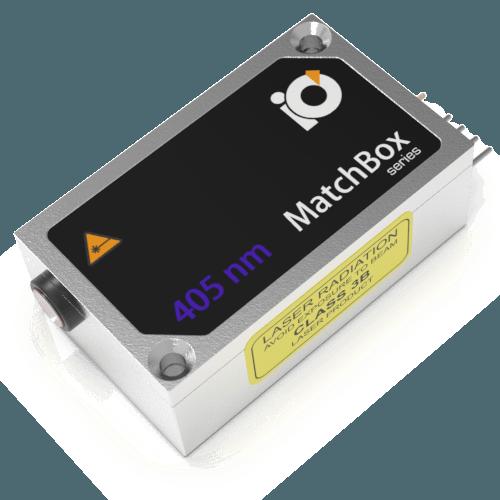IO Matchbox 405nm Laser