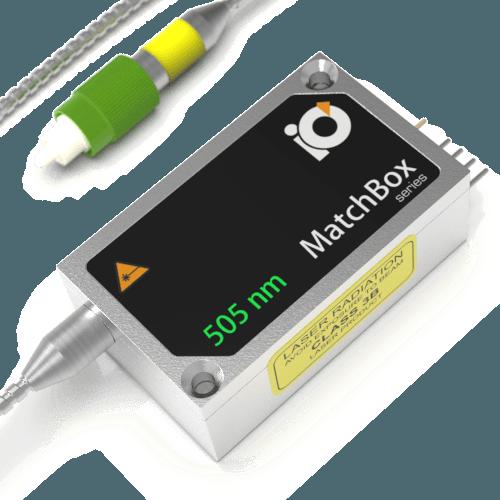 IO Matchbox 505nm Laser