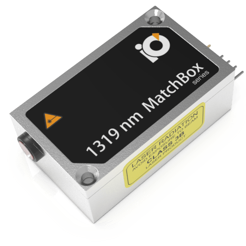 1319L-1XB: 1319nm Laser (DPSS; MATCHBOX 2)
