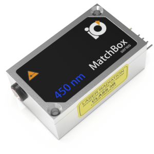 450L-3XA: 450nm Laser (HP MM Diode; MATCHBOX 2)