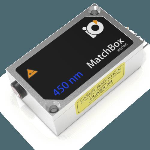 450L-3XA: 450nm Laser (HP MM Diode; MATCHBOX 2)