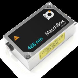 488L-2XA: 488nm SLM Laser (VBG Diode; MATCHBOX 2)