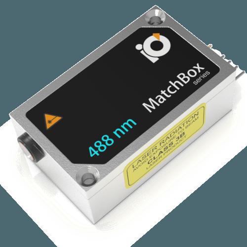 488L-1XA: 488nm Laser (Diode; MATCHBOX 2)