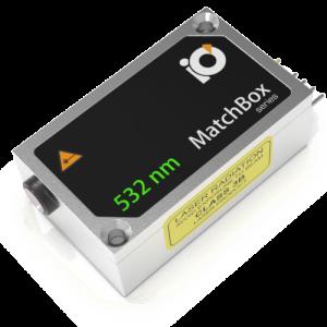 532L-3XB: 532nm Laser (HP DPSS; MATCHBOX 2)