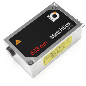 638L-1XA: 638nm Laser (Diode; MATCHBOX 2)