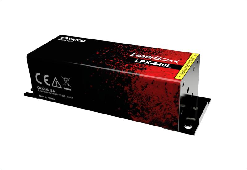 LPX-640L-XXX-CSB: 640nm Low Noise DPSS Laser