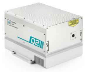 Quantas-Q2-527: High energy, compact, nanosecond, DPSS laser