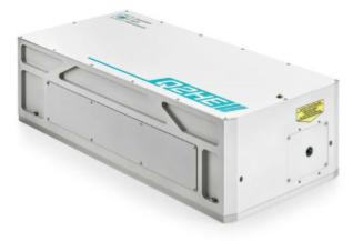 Quantas-Q2HE: High energy, compact, nanosecond, DPSS laser
